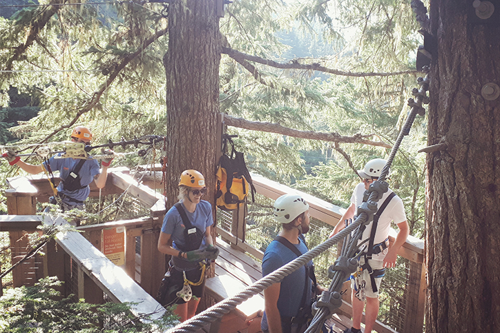 #ZiptrekWhistler Best of Summer Photo Series