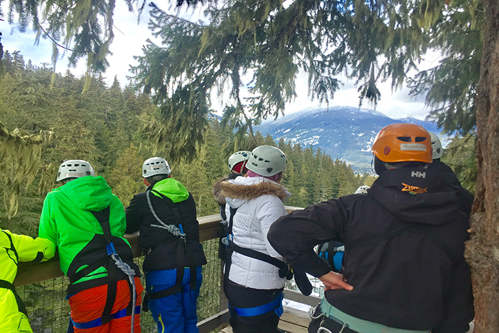 Top 5 Things to Do in Whistler with a Group