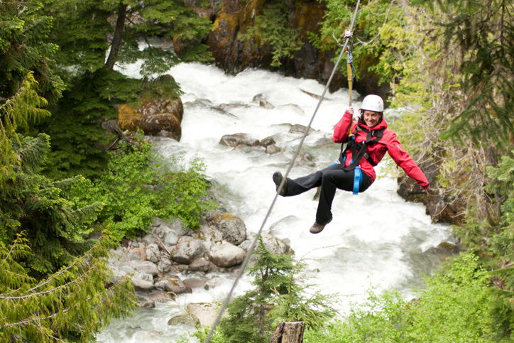 What to Wear Ziplining in Spring