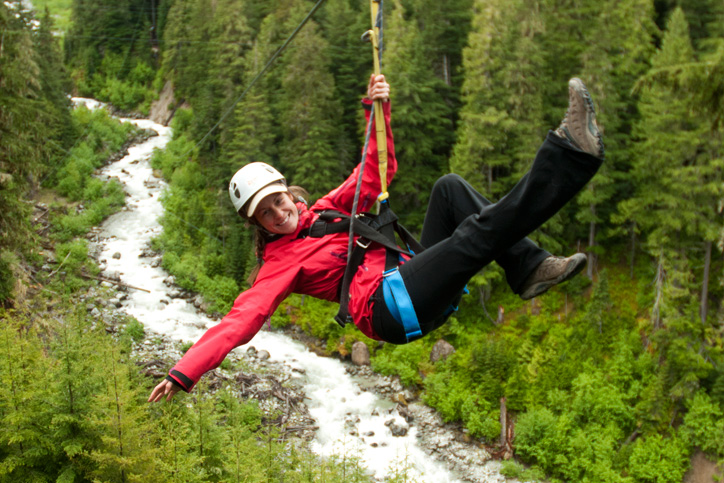 What to Wear Ziplining in the Fall
