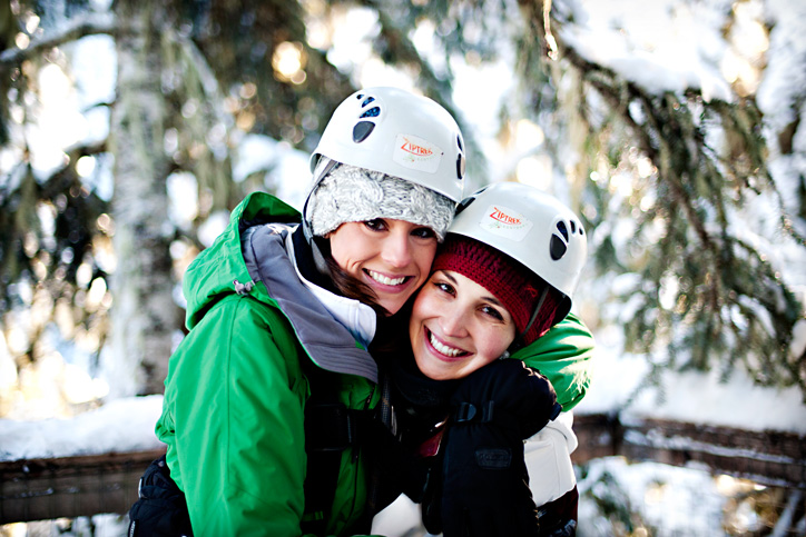 What to Wear Ziplining in Winter